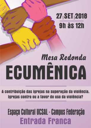 CARTAZ ECUMENICO